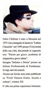 Nota biografica  di Fabio ChillemiPensieri